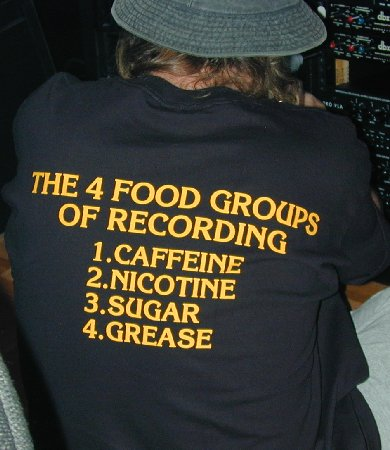 The Four Food Groups of Recording